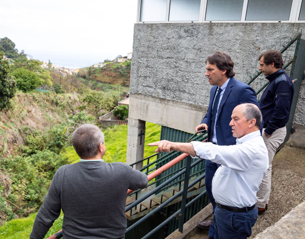 Governo Regional prepara canalização de ribeiros no concelho do Funchal