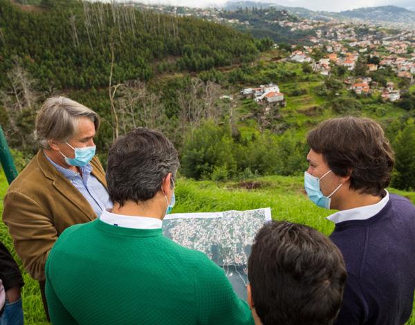 Concurso para 'Infraestruturas de Acesso e Segurança nas Zonas Altas de São Roque – Troço Jamboeiro, Galeão, Bugiaria'