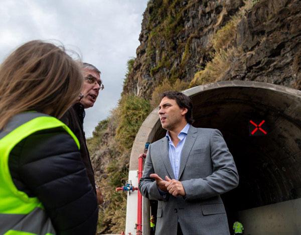 Reparação total do Túnel da Tabua avança na próxima segunda-feira