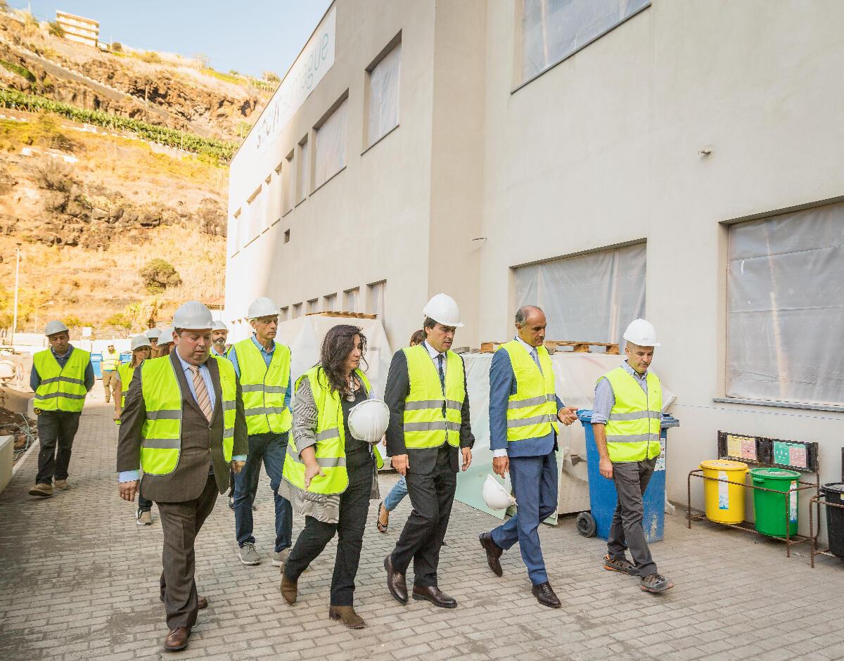 Obras na Escola da Ribeira Brava concluídas em dezembro de 2020