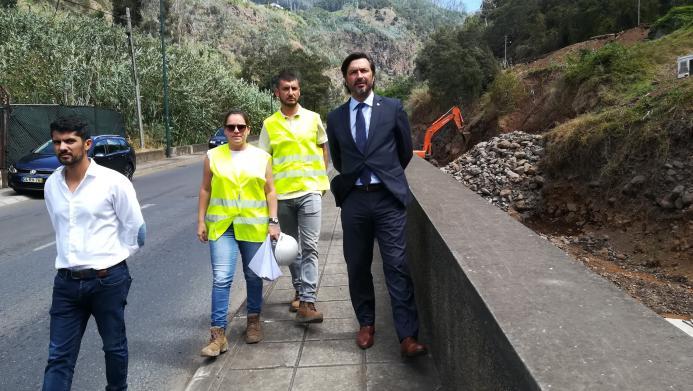 Funchal mais seguro com obras de regularização na Ribeira de Santa Luzia