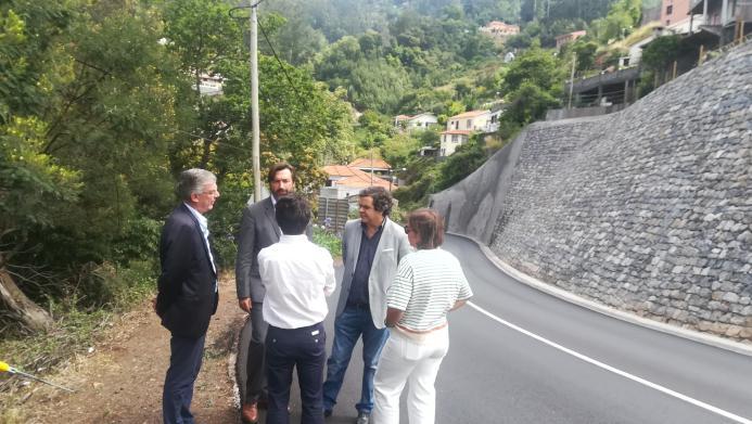 Governo Regional investe 1,2 milhões na estabilização de talude no Palheiro Ferreiro