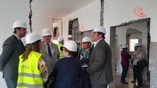 Trabalho de equipa tem sido fundamental nas obras de ampliação do Centro de Saúde da Calheta