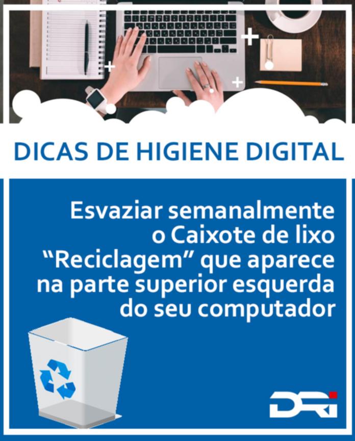 Dicas de higiene digital - 1