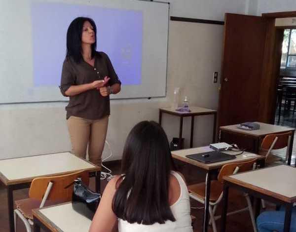 Ação de sensibilização - Escola Secundária Francisco Franco