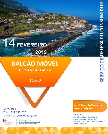 Balcão Móvel Ponta Delgada