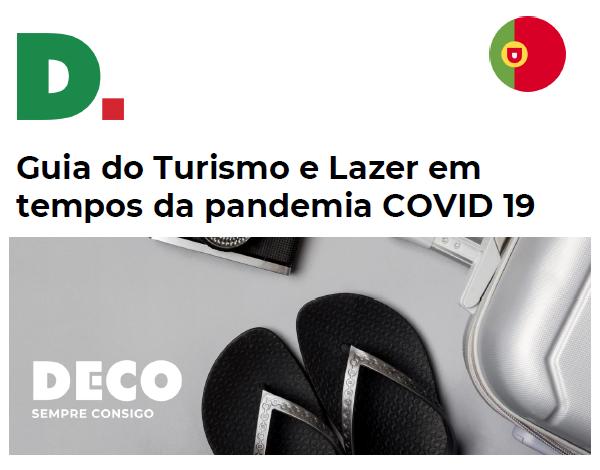 """""""Turismo e Lazer em tempos de Pandemia"""""""