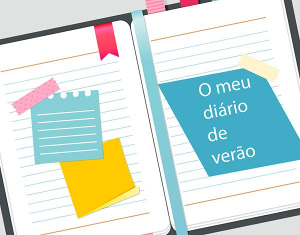 """Ateliê """"O meu diário de Verão"""""""
