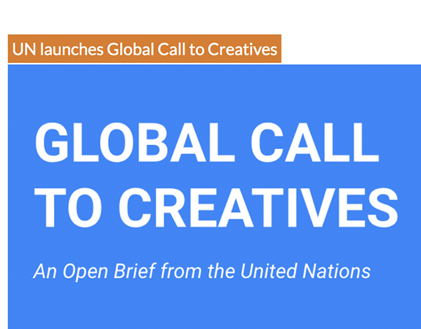 UN launches Global Call to Creatives