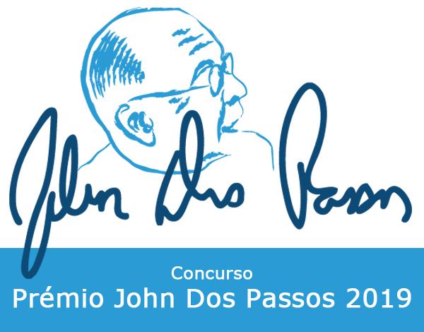 Abertura do Concurso Prémio John Dos Passos 2019