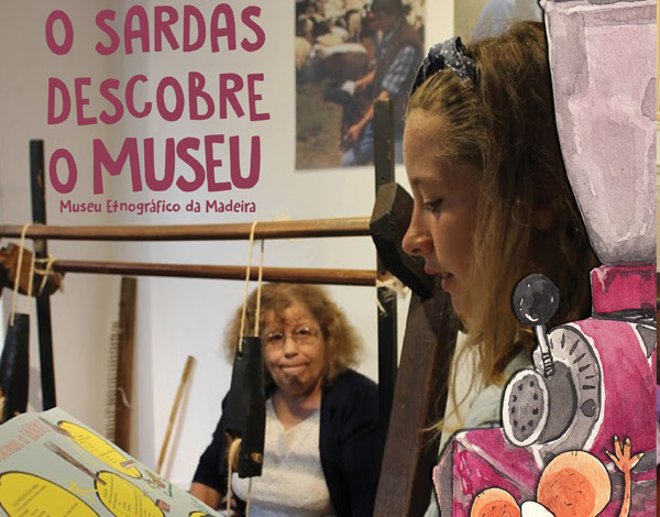 """""""O Sardas Descobre o Museu"""""""