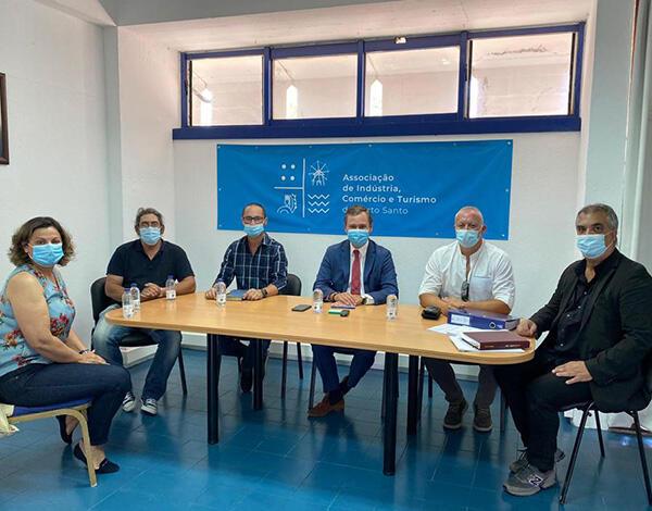 Rui Barreto reuniu Associação de Indústria, Comércio e Turismo do Porto Santo
