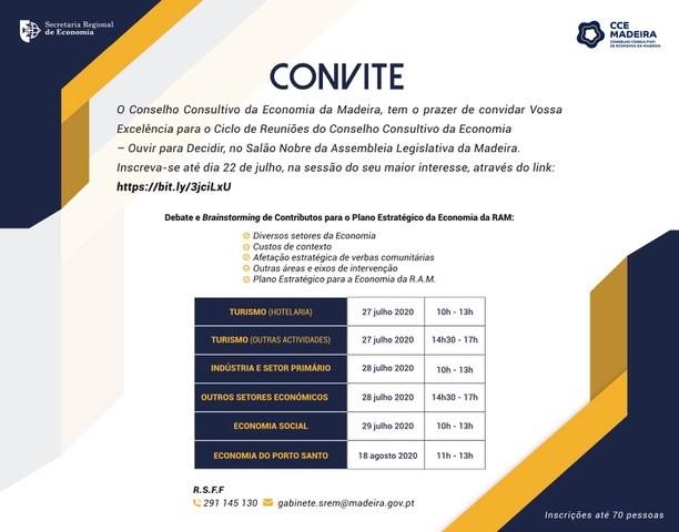 """Conselho Consultivo de Economia promove Ciclo de Reuniões """"Ouvir para Decidir"""""""