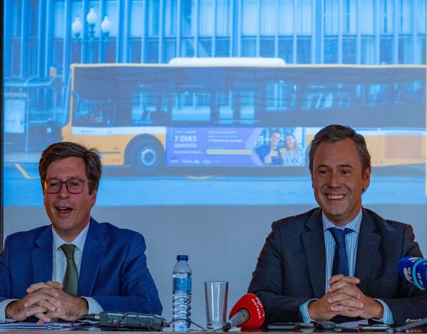 Grupo Horários do Funchal suspende venda de bilhetes a bordo
