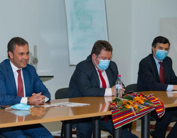 Secretário da Economia reuniu com empresários da Ribeira Brava