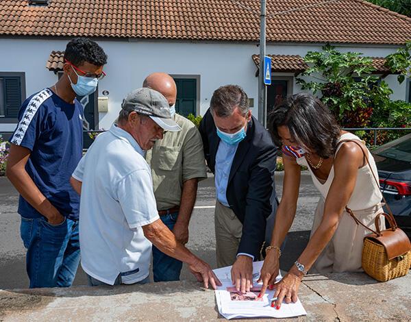 Governo reforça proteção marítima do cais da Madalena do Mar