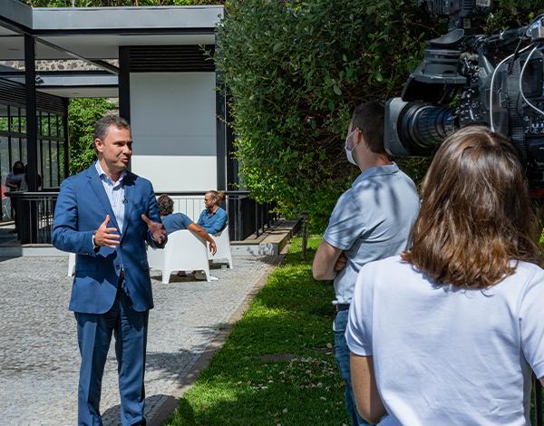 Televisão francesa destaca projeto 'Digital Nomads Madeira Island'
