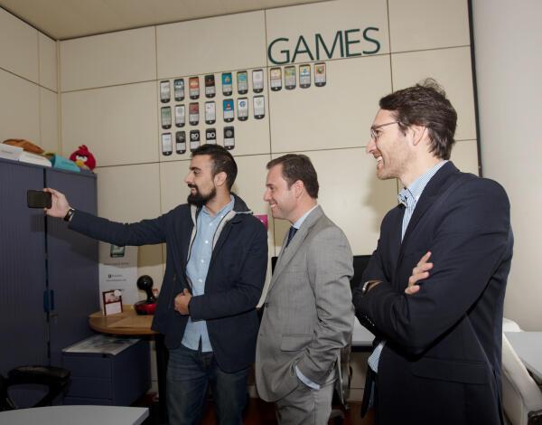Rui Barreto visitou incubadora da Startup Madeira