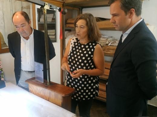 O Secretario Regional da Economia, Rui Barreto, visitou a empresa Bordal
