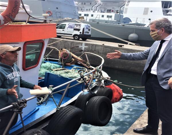 Secretaria do Mar já isentou pescadores e armadores do pagamento de 500 mil euros de taxas nas lotas