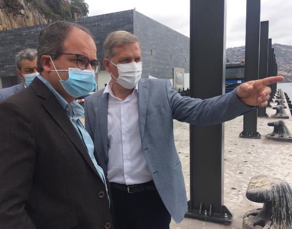Secretaria do Mar investe 60 mil euros em dois guinchos para a lota do Funchal