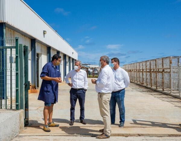 Intervenção na lota do Porto Santo feita com mão-de-obra das pescas