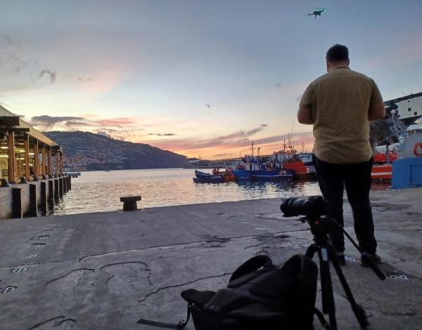 Equipa de chef com estrela Guia Michelin de volta à lota do Funchal