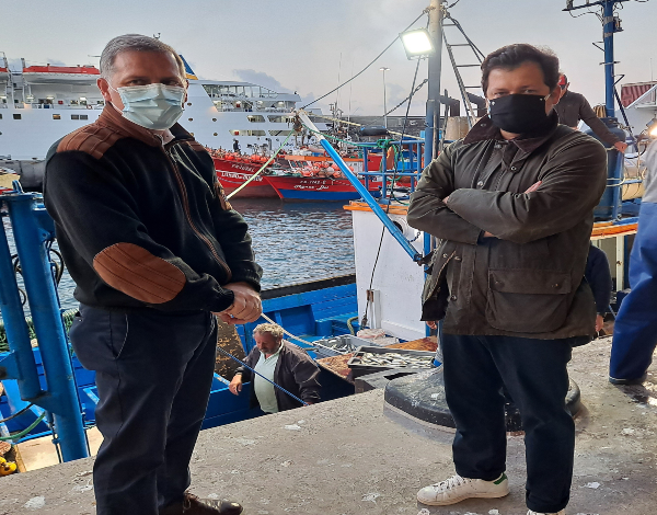 """Chefe com estrela Michelin recebido pelo secretário regional de Mar e Pescas inclui produtos de pesca da Madeira no projeto gastronómico nacional """"Matéria"""""""