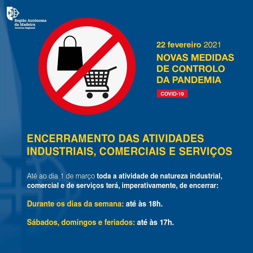 Atividades industriais, comerciais e serviços