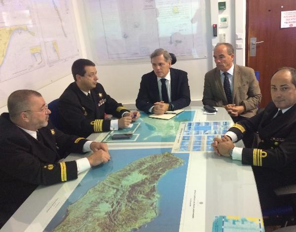 Secretario regional de Mar e Pescas foi conhecer o Comando da Zona Marítima da Madeira