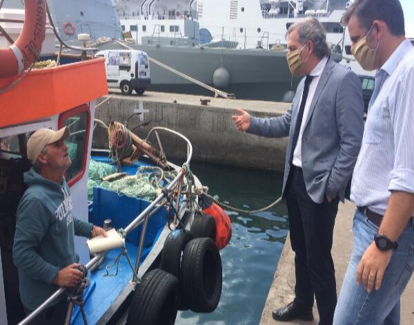 Descarga de peixe-espada só no porto do Funchal