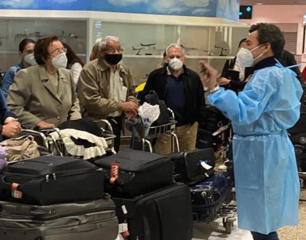 Rui Abreu dá as boas-vindas a madeirenses que chegam da Venezuela