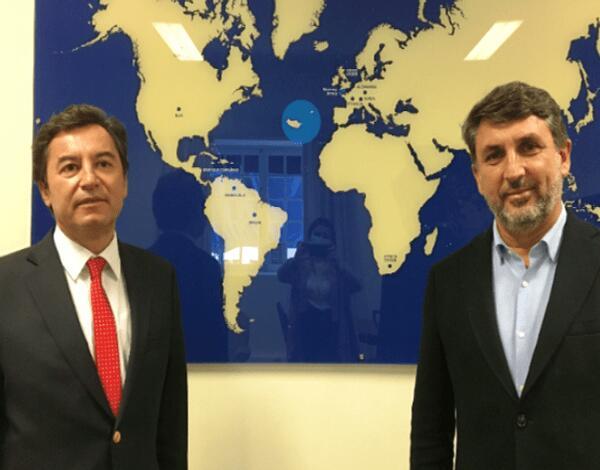 Rui Abreu recebe Diretor Regional do SEF na Madeira