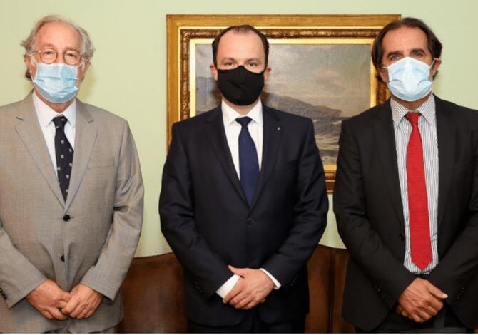 Miguel Albuquerque recebeu embaixador da Hungria em Portugal