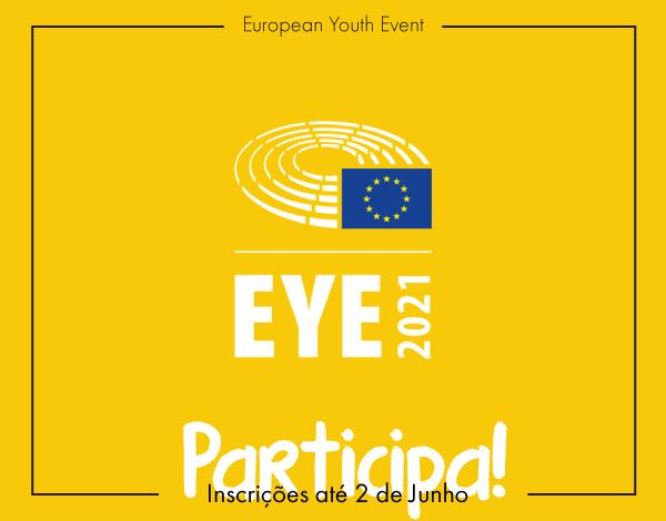 Participa no European Youth Event - EYE 2021