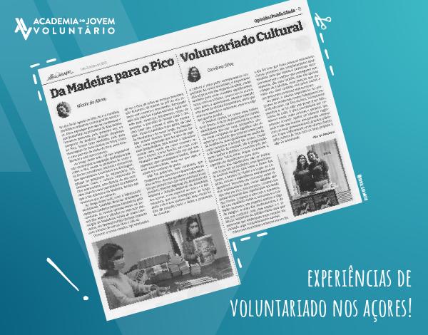 Uma experiência de voluntariado cultural nos Açores