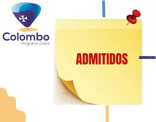 PROGRAMA COLOMBO 2020 | Jovens admitidos