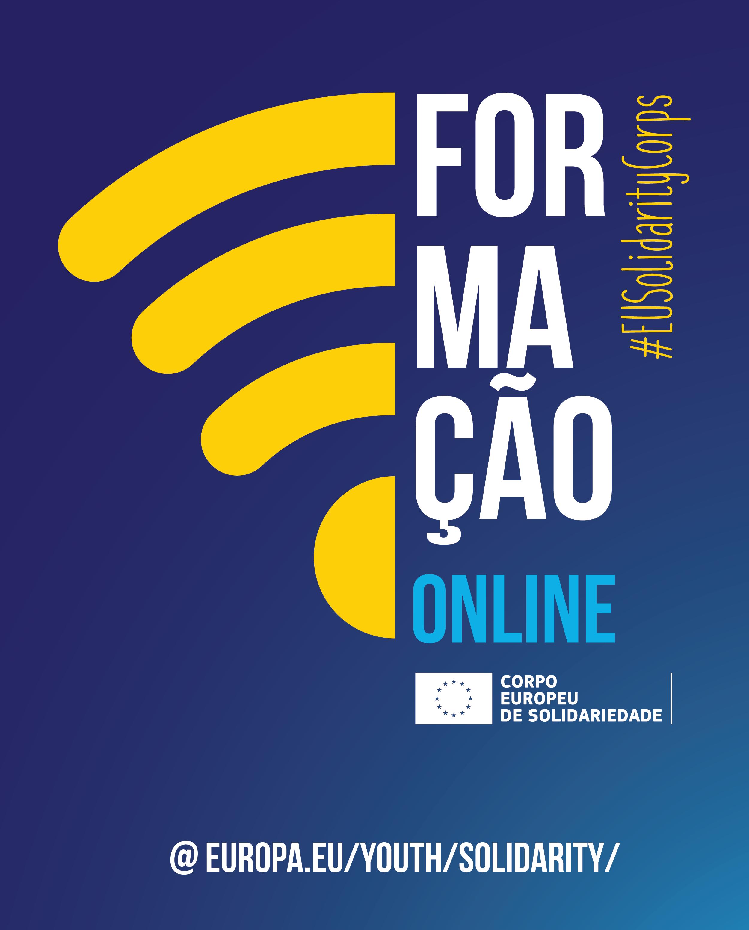 FORMACAO ONLINE | CORPO EUROPEU DE SOLIDARIEDADE (CES)