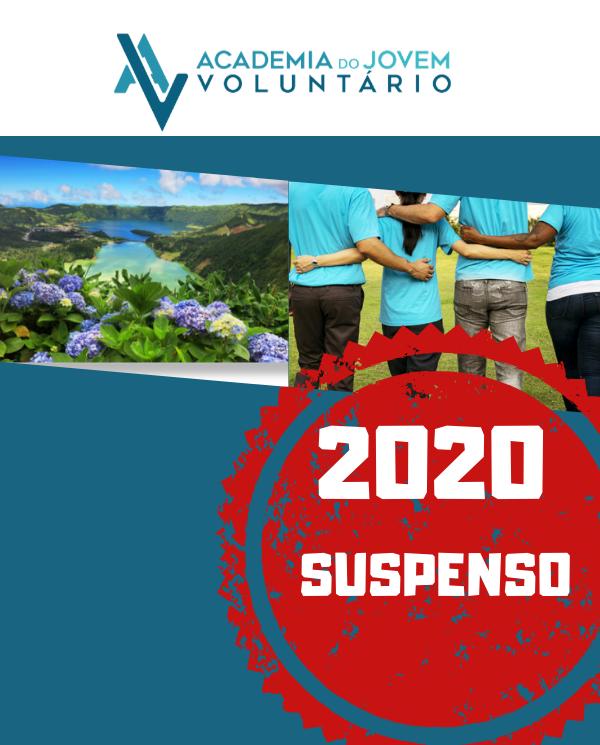 PROGRAMA DE VOLUNTARIADO NOS ACORES, SUSPENSO EM 2020