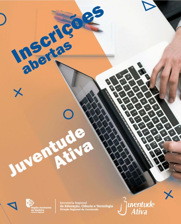 JUVENTUDE ATIVA | INSCRICOES  ABERTAS