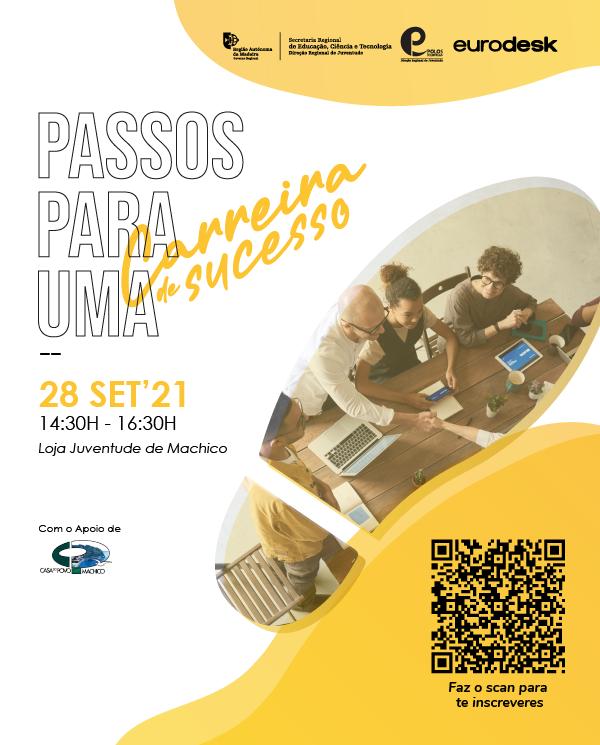 WORKSHOP PASSOS PARA UMA CARREIRA DE SUCESSO