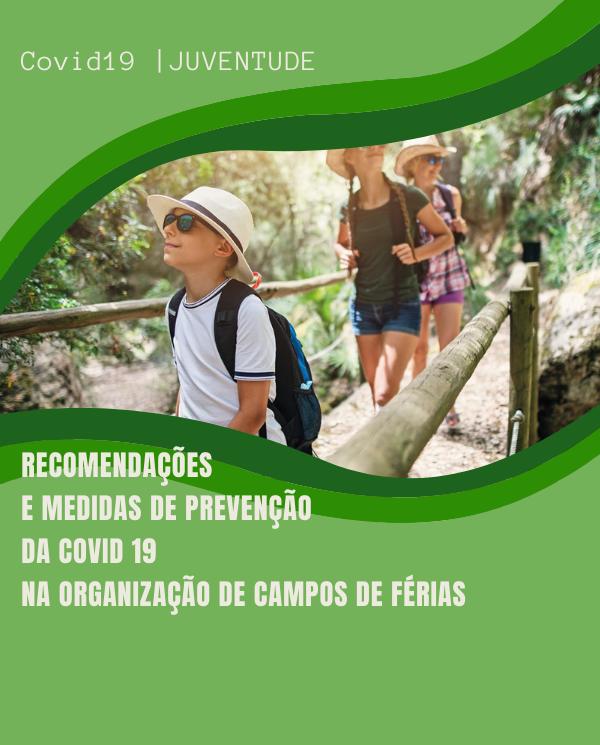 CAMPOS DE FERIAS 2020 | RECOMENDACOES COVID19