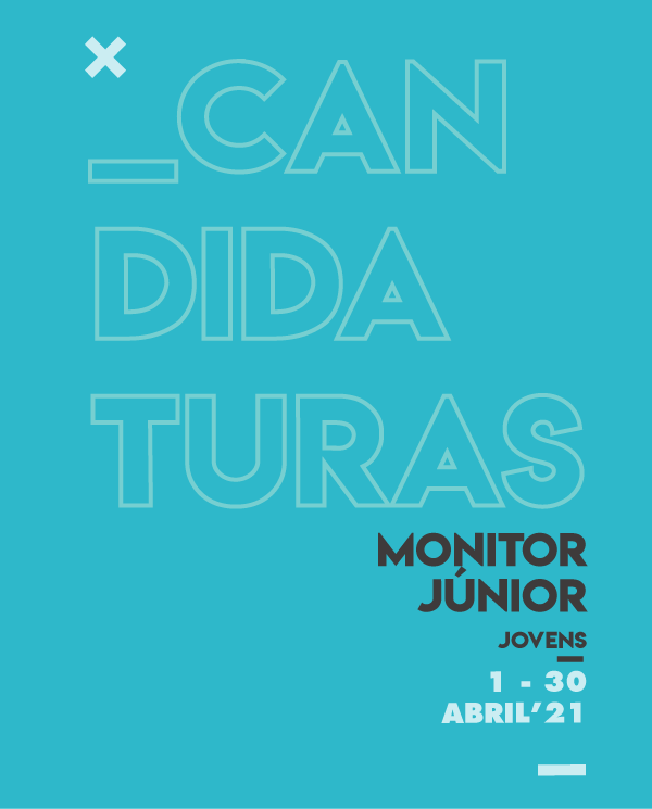 MONITOR JÚNIOR |CANDIDATURAS EM ABRIL
