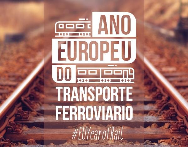 Sabias que 2021 é o Ano Europeu do Transporte Ferroviário?
