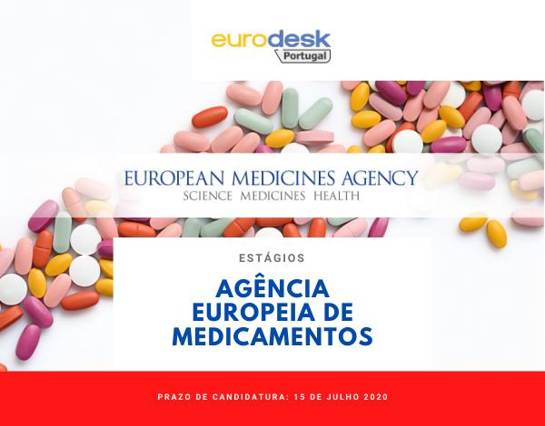 Gostarias de fazer um estágio na Agência Europeia de Medicamentos?