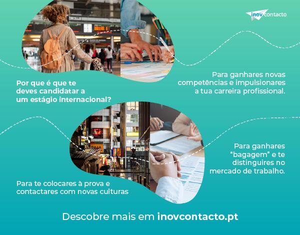 Programa Inov Contacto   Estágios Internacionais