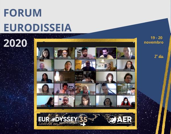 Fórum Eurodisseia 2020 juntou Regiões da Europa