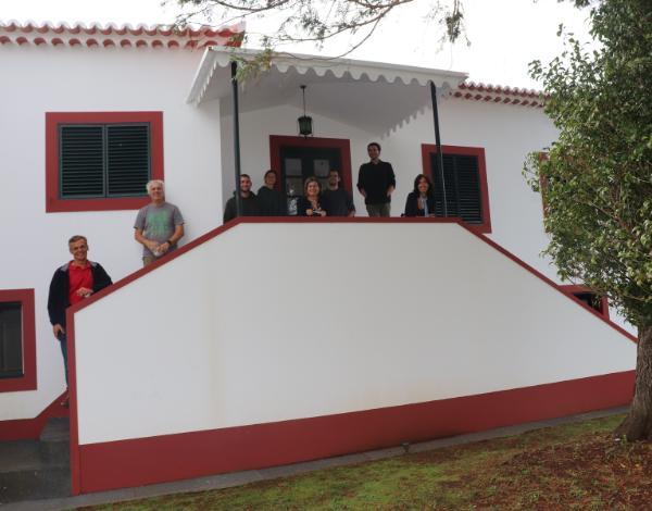Estagiários do Programa Eurodisseia em visita pela Madeira