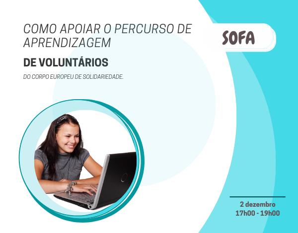 """""""Como apoiar o percurso de aprendizagem de voluntários no Corpo Europeu de Solidariedade (CES)"""""""