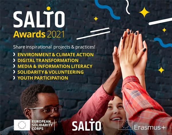 Salto Awards 2021 - Candidata o teu projeto ao Prémio!